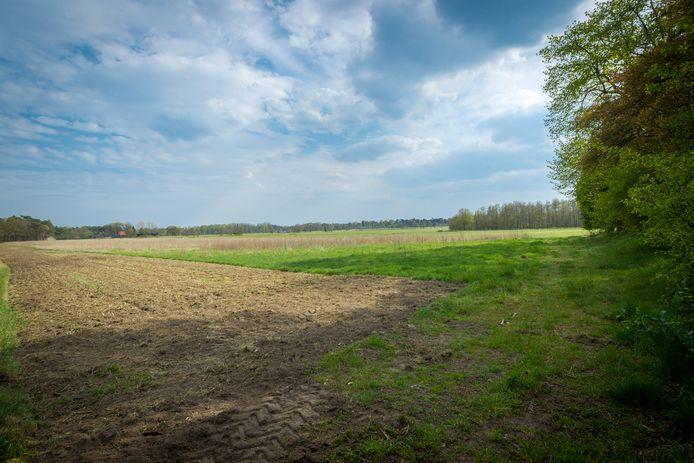 Het stuk voormalige landbouwgrond ten noorden van het Greveschutven wordt door Brabants Landschap het Achtereinds Laag genoemd.