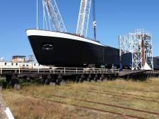 Kooiman bouwt duurzaam zandschip voor transport naar België: 'Groen kost nog steeds een beetje poen'