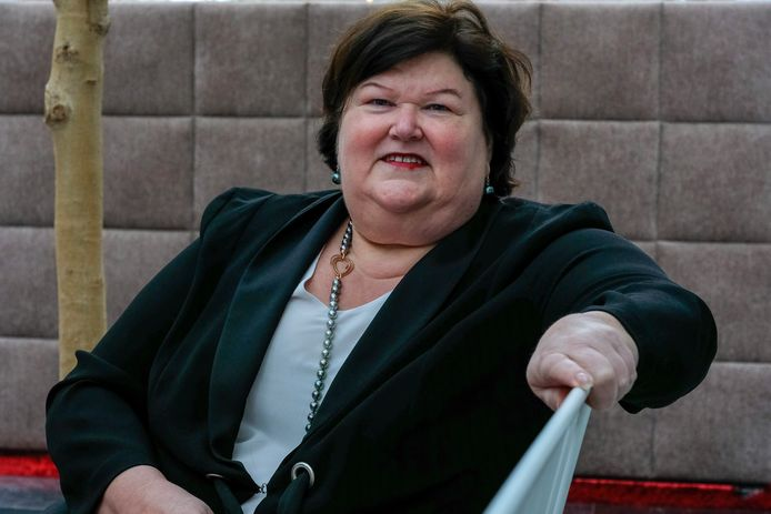 Maggie De Block, lijsttrekker voor de Kamer bij Open Vld.
