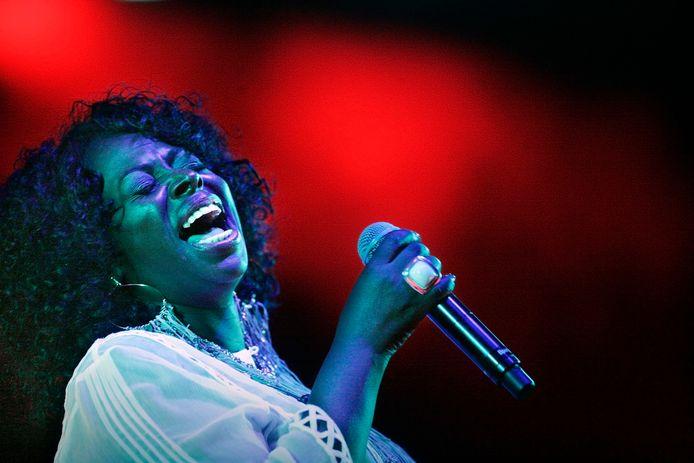 Angie Stone op The Hague Jazz, een van de spaak gelopen evenementen in Den Haag die het verdwenen North Sea Jazz moesten doen vergeten.