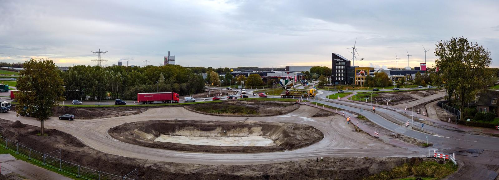 De Bromtol is het logistieke knooppunt in Oosterhout. Foto van vorig jaar.