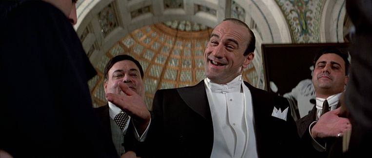 Robert De Niro in The Untouchables van Brian De Palma. Beeld