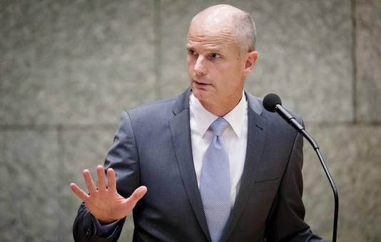 Minister Stef Blok (Veiligheid) komt met een eigen wet om terrorisme  te bestrijden.