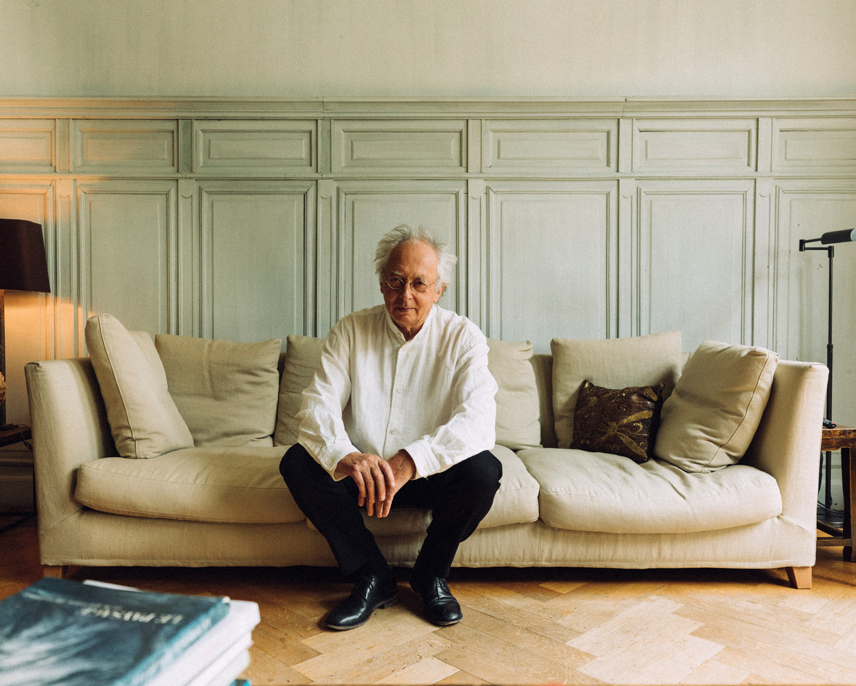 Philippe Herreweghe: 'Mijn vader was huisarts en heeft gewerkt tot zijn 87 jaar.  De dag voor zijn dood heeft hij nog golf gespeeld. Ik reken erop dat ik dat sterke gestel van hem geërfd heb.' Beeld Rebecca Fertinel