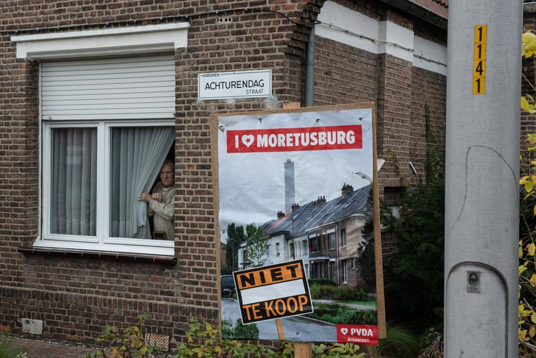 De Hobokense wijk Moretusburg. Beeld Wouter Maeckelberghe