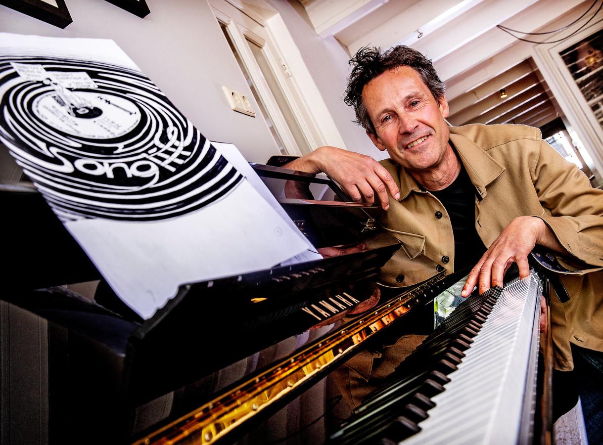 Gerrit de Jager liet zich voor zijn beeldroman inspireren door muziek.