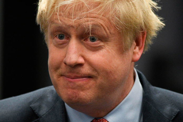 Le premier ministre britannique et leader du parti conservateur, Boris Johnson.