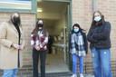 Volgens leerlingen Cato, Luna, Shelsey en Joyce zal er toch enige gêne blijven.