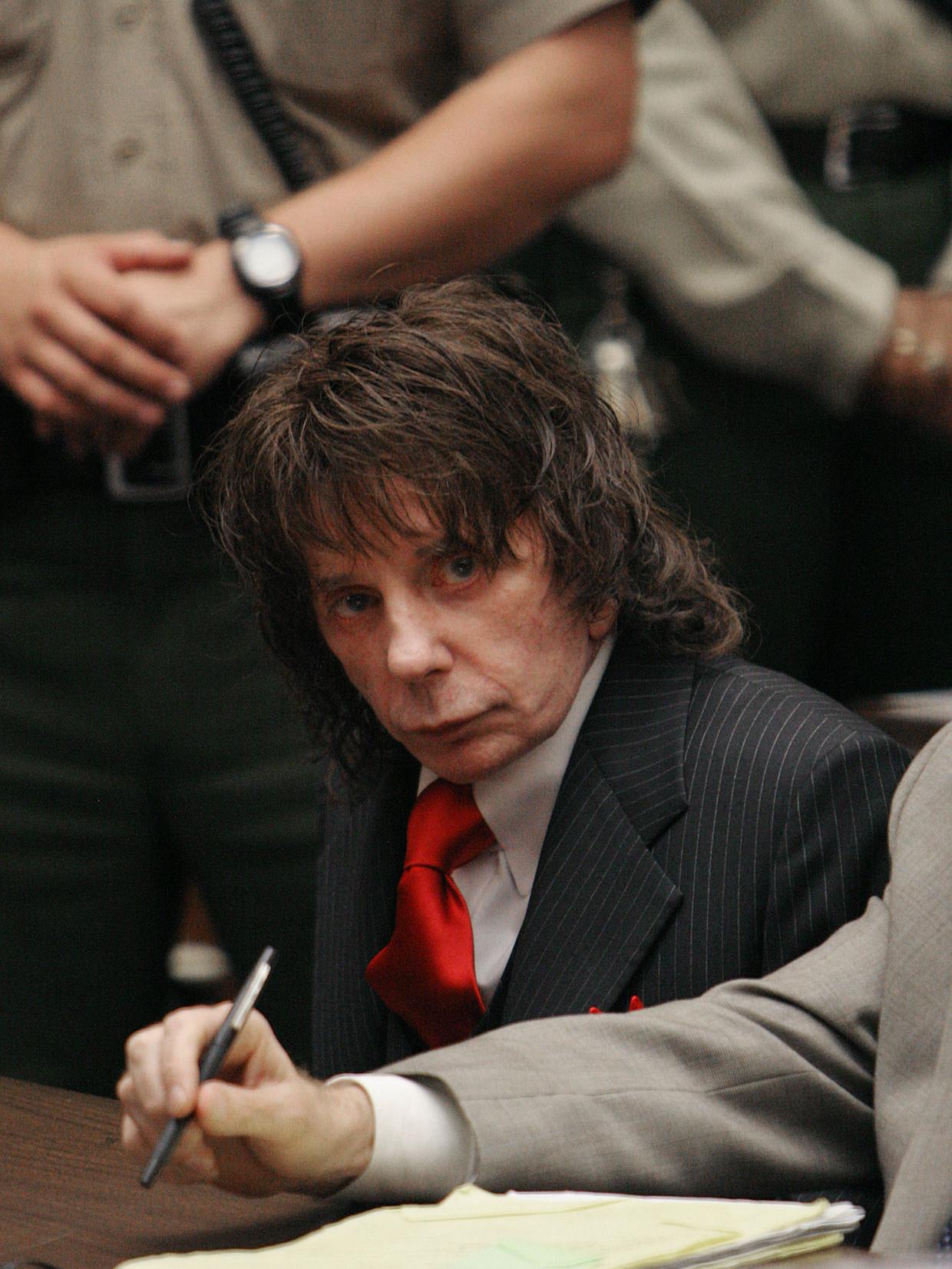 Phil Spector in 2009 in de rechtszaal.  Beeld AP