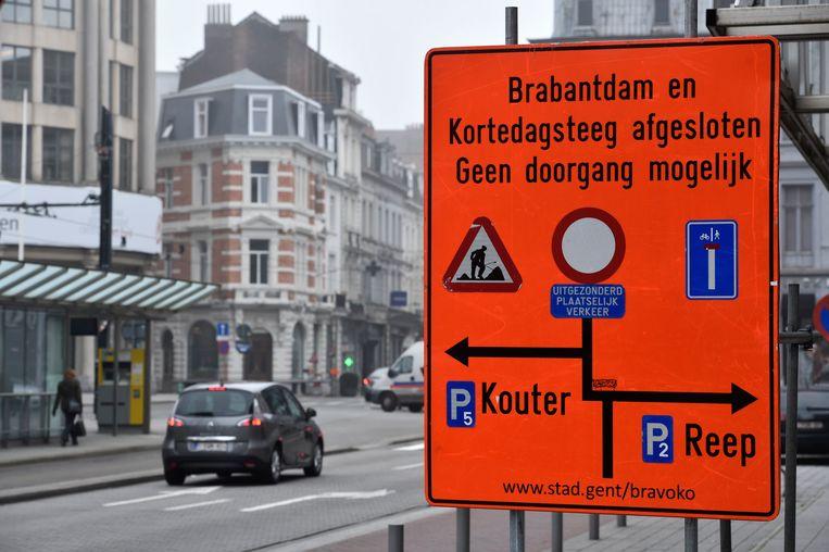 Een burgerkabinet boog zich het afgelopen jaar over adviezen om het circulatieplan in Gent te verbeteren. Beeld Photo News