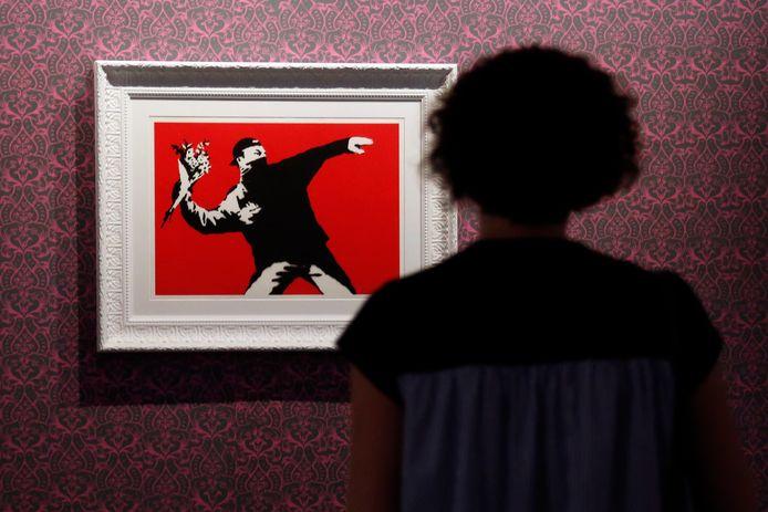 Une exposition visuelle de l'artiste Banksy