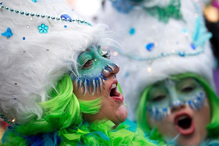 Ja, Amsterdam doet voortaan ook vrolijk mee met carnaval. Beeld anp