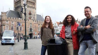 """Jong CD&V Brugge wil vuilnisbakken met een 'geluidje':  """"Zo zullen mensen minder afval op straat gooien"""""""