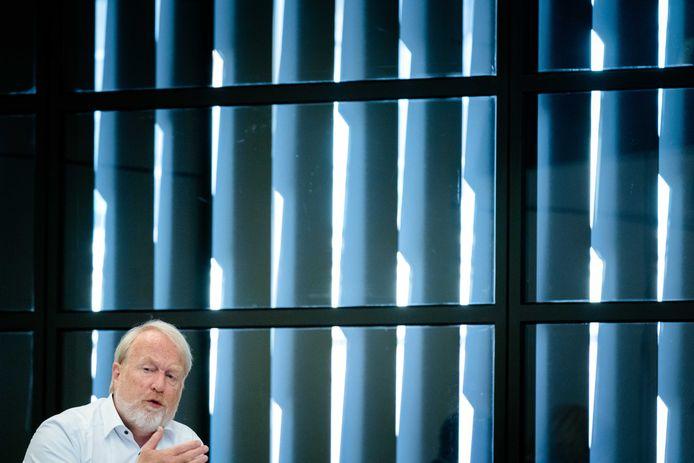 Jaap van Dissel (RIVM) tijdens een technische briefing over de ontwikkelingen rond het coronavirus.