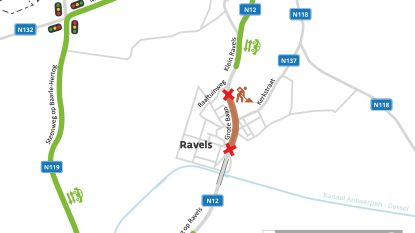 Centrum van Ravels weekend lang afgesloten voor verkeer