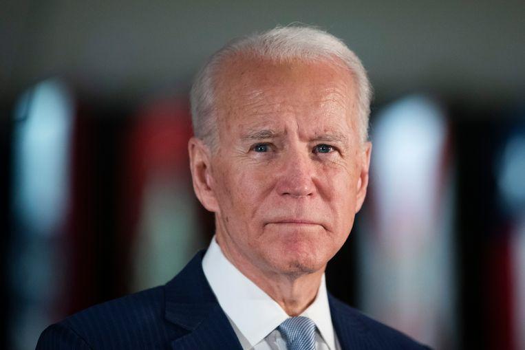 Joe Biden: 'We hebben eerlijk en betrouwbaar leiderschap nodig, samen kunnen we Trump verslaan.' Beeld AP