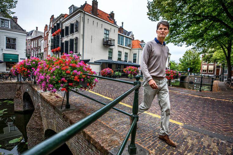 Erik Akerboom: 'We hebben nog steeds de meeste zorgen over de permanente stroom digitale aanvallen op Nederland.' Beeld Raymond Rutting / De Volkskrant