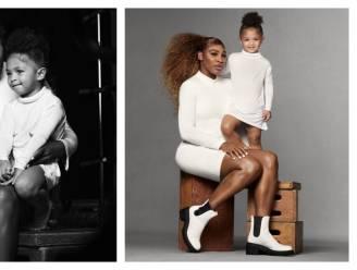 Dochtertje Serena Williams poseert voor het eerst samen met haar mama in modecampagne
