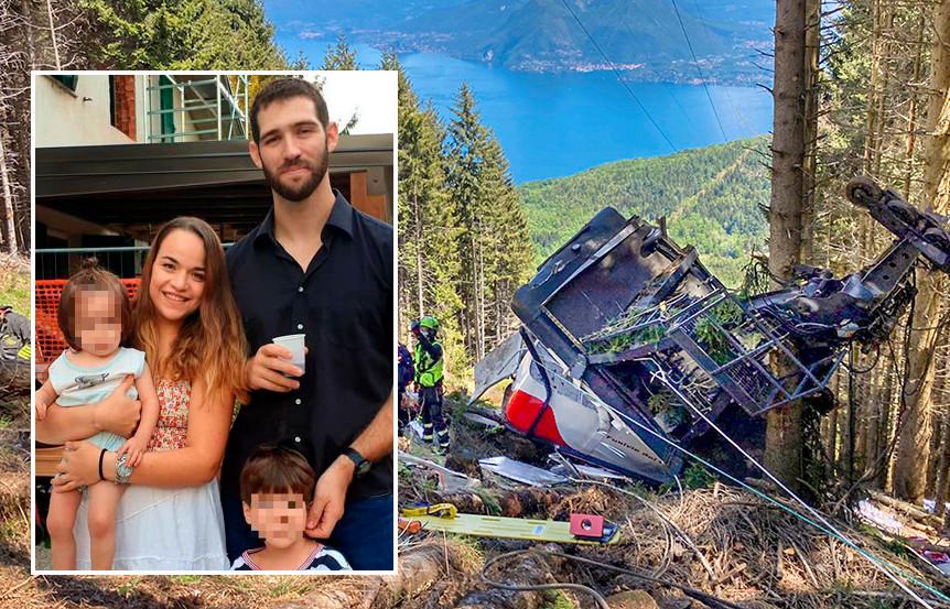 Amit Biran, zijn vrouw Tal Peleg en hun twee jaar oude zoon, Tom overleefden de crash niet. Eitan (5) is levensgevaarlijk gewond opgenomen in het ziekenhuis.