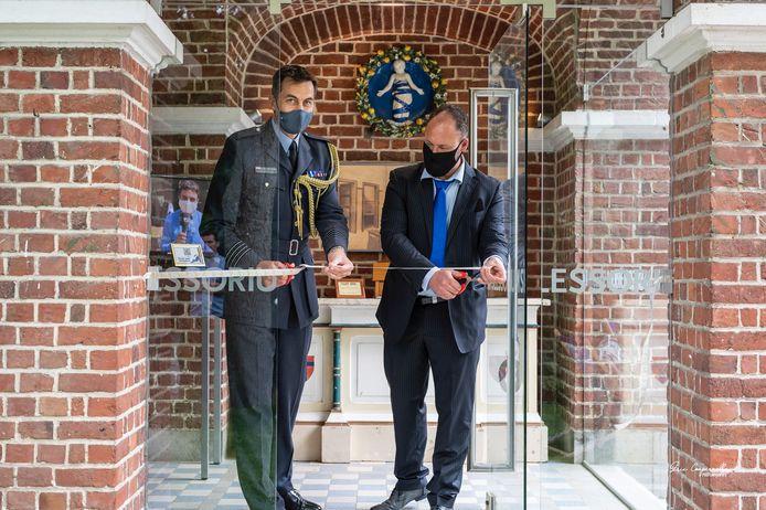 De glaskunsttentoonstelling Re(F)used door Nico Sabbe werd tijdens de Garden Party in het Talbot House plechtig geopend door een vertegenwoordiger van de Britse Ambassade.