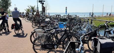 Harderwijkse boulevard wordt geplaagd door fietsenprobleem: 'Gewoon geen gezicht'