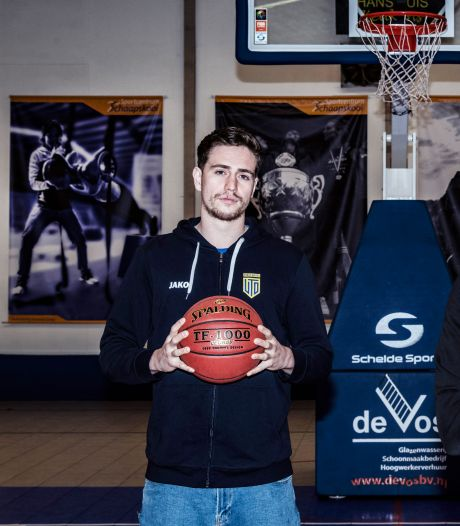 Wageningse basketballer Matthew van Tongeren speelde in 2020 maar twee wedstrijden: 'Zat ik ineens met mijn vriendin opgesloten'