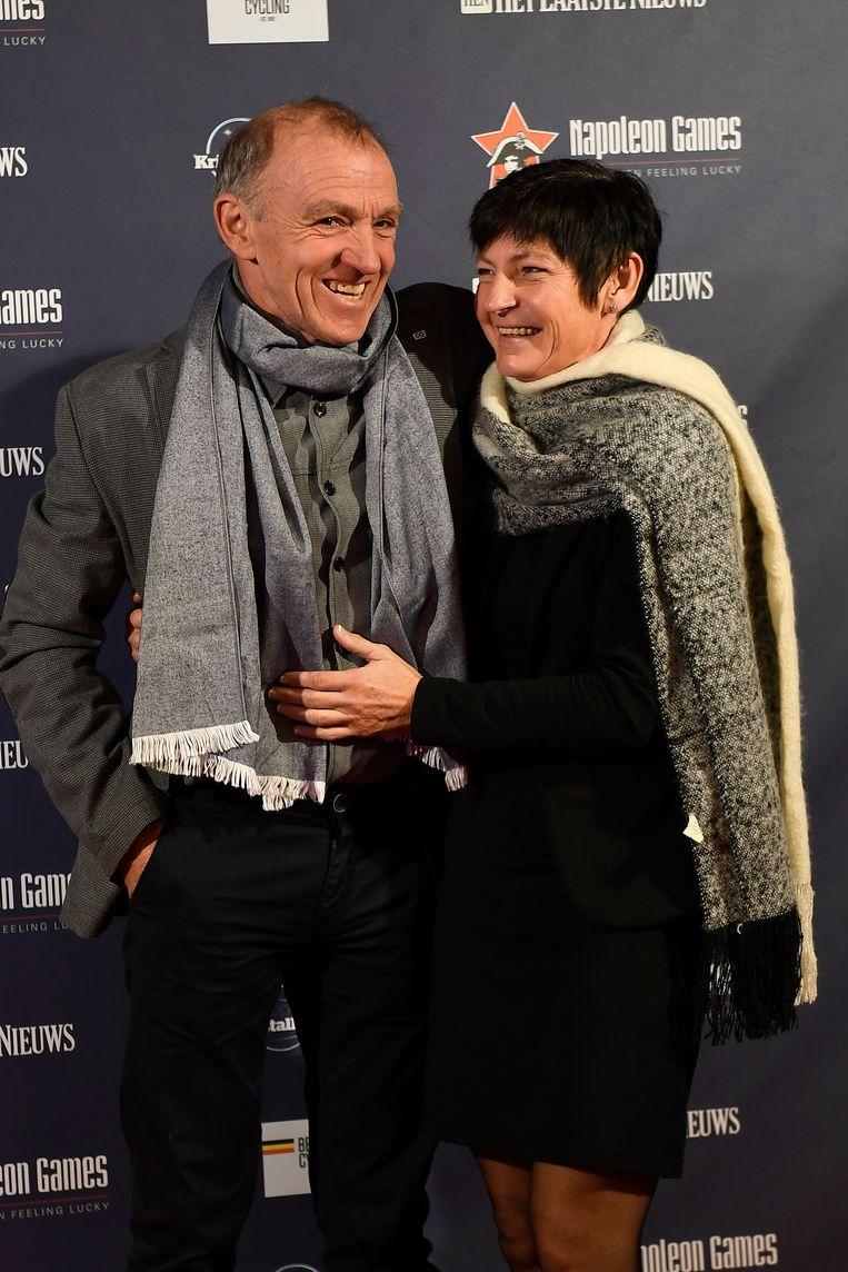 Rudy De Bie met zijn vrouw.