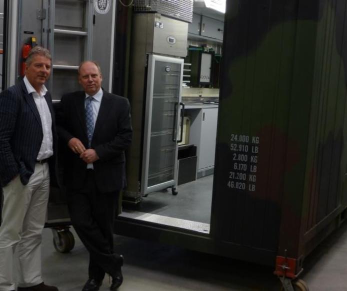 Directeuren Tijsterman en Zwiers van het internationaal opererende Contour. foto PR