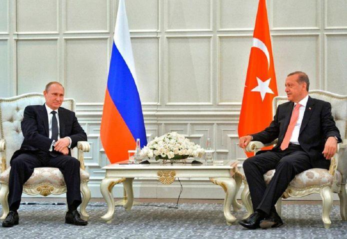 Vladimir Poutine a été l'un des premiers dirigeants étrangers à téléphoner à Recep Tayyip Erdogan pour condamner le putsch raté le 15 juillet dernier.