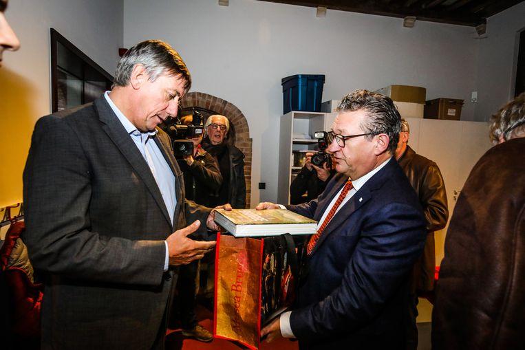 Brugge bezoek minister Jambon aan Gruuthuse