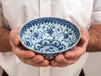 Porseleinen kom gekocht bij tuinverkoop blijkt waardevol Chinees artefact te zijn