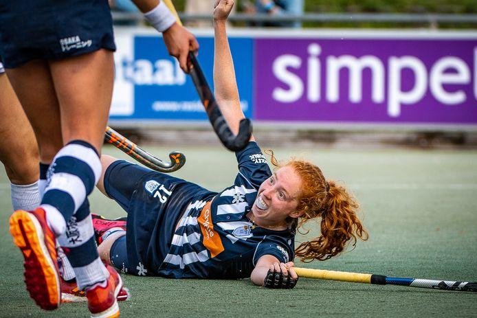 Het was voor Tessa Beetsma vallen en opstaan dit seizoen, maar nu is ze weer topfit. Foto: Frank van der Leer.