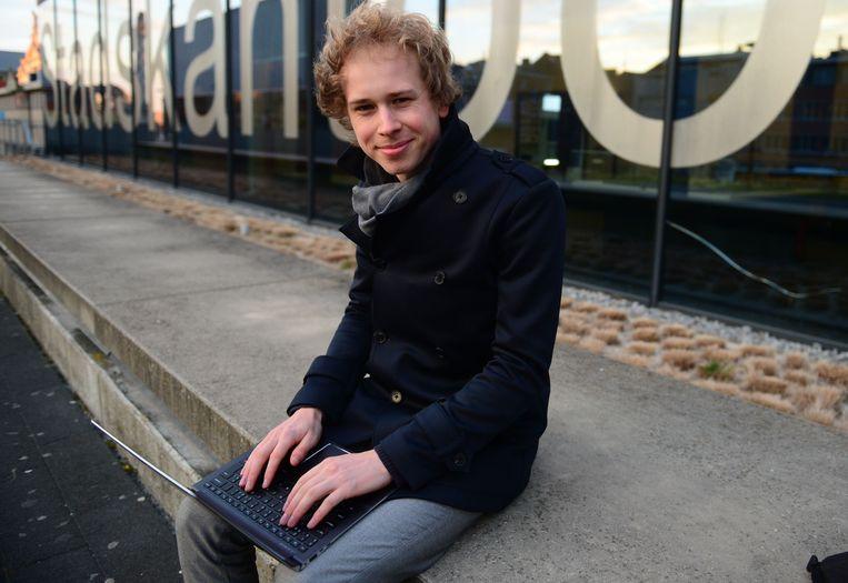 Thomas Van Oppens (Groen) wil de afvalberg in Leuven verkleinen door een belasting te heffen op onder meer reclamedrukwerk.