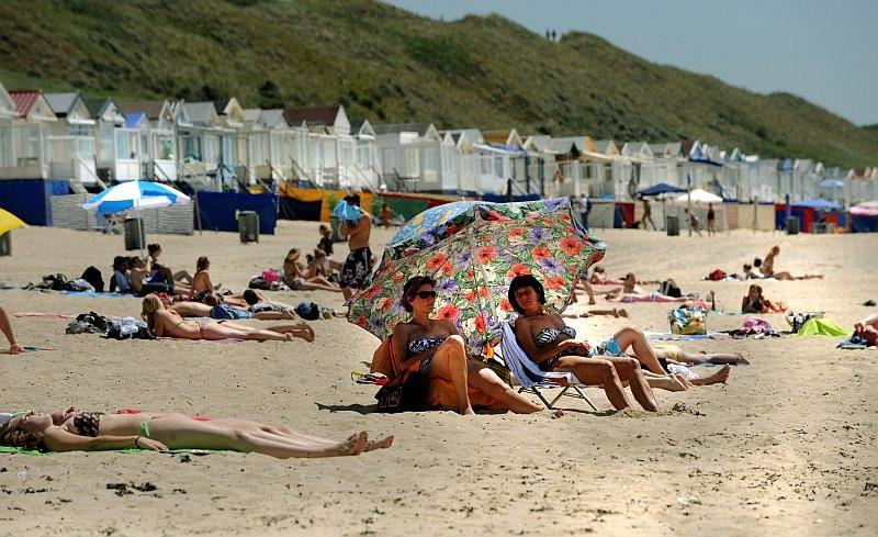 Strand bij Domburg.
