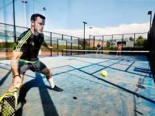 Nieuw in Doesburg: padel, een kruising tussen squash en tennis