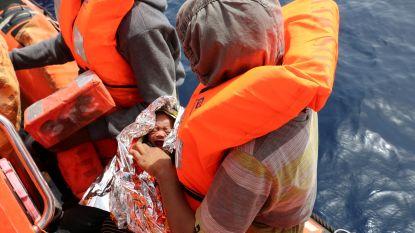 Meer dan 500 migranten gered door Libische marine op week tijd