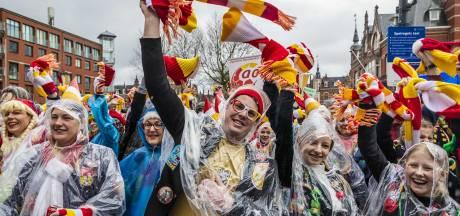 Iets minder wind maar wel kans op regen tijdens carnavalsdinsdag