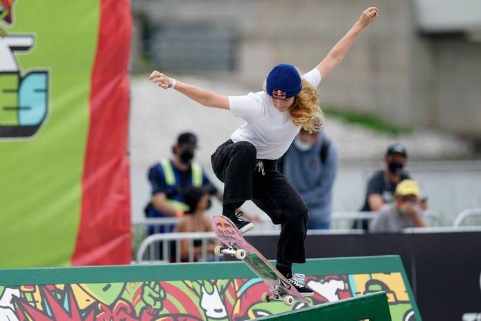 """Lore Bruggeman: """"Ik skate al zo'n kleine zeven jaar en ben er eigenlijk redelijk random mee begonnen."""""""