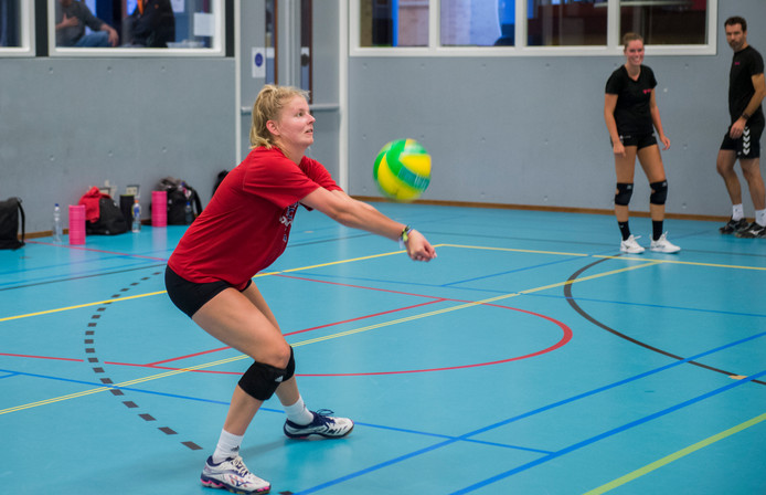 Lara Hendricks in training bij FAST.