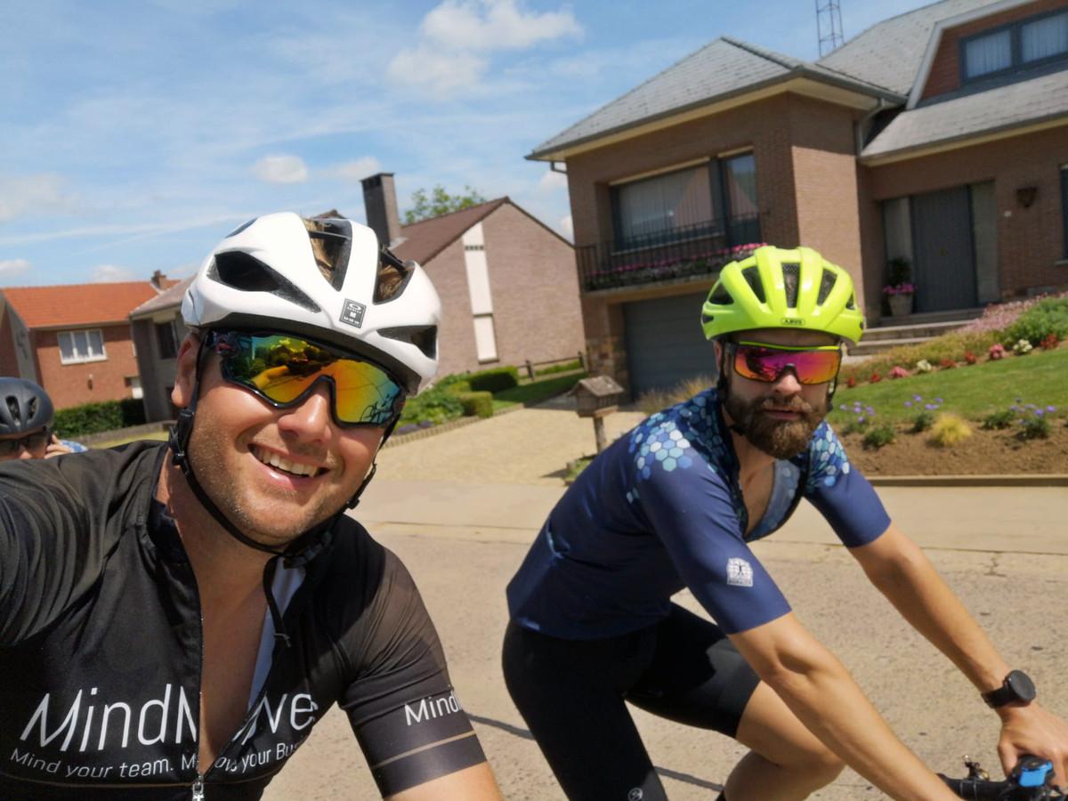 Hannes haalde het einde van de challenge maar zijn buddy Tom moest onderweg afhaken.