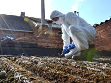 Stad kent subsidie toe voor verwijderen van asbest uit woning