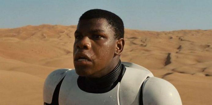 John Boyega in 'Star Wars: The Force Awakens'.