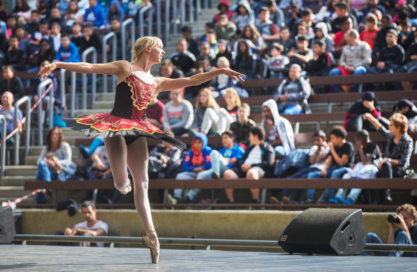 De voorstelling Dans om de Wereld ging eerder in première in het Zuiderparktheater. Foto ter illustratie.