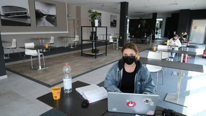 Helemaal zen in studieruimte in… winkelcentrum K