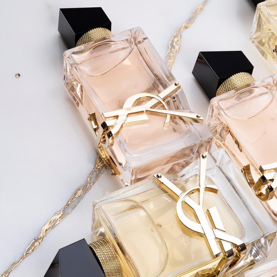 Le parfum Liberté d'Yves Saint Laurent.