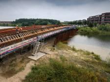 Brug van 85 meter verbindt nieuwe Rosmalense buurten