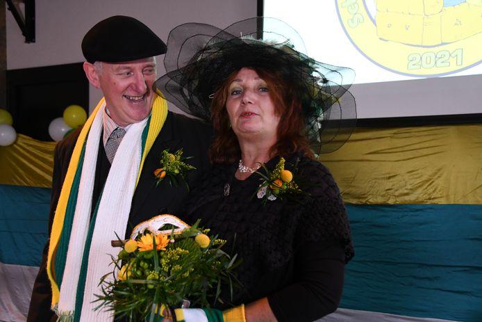 Cor van Casteren en Jeanine van den Oetelaar