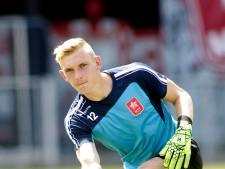 Lars van Meurs is tweede keeper van TOP Oss
