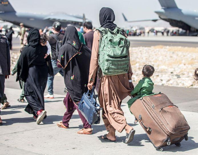 Image d'illustration à l'aéroport de Kaboul