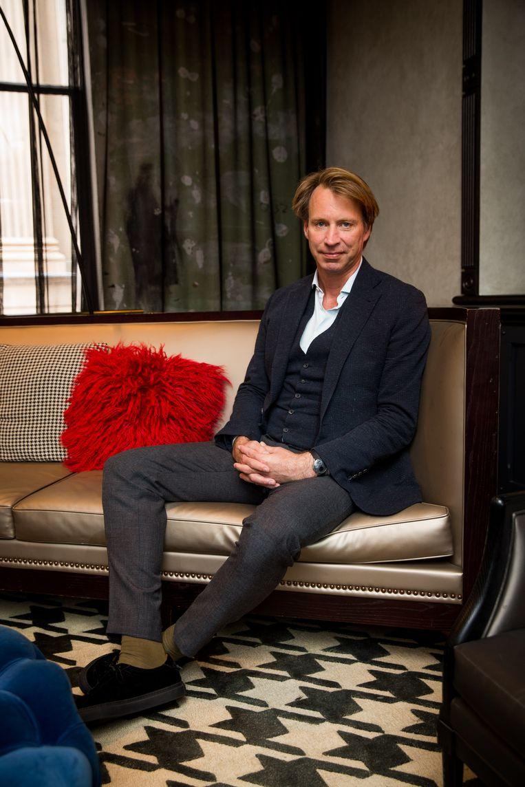 Giles Martin is de zoon van 'vijfde Beatle' George Martin.  Beeld Getty Images